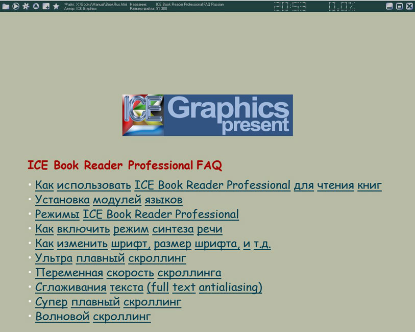 ICE Book Reader Professional 9.0.5